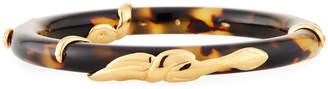 Gas Bijoux Cobra Acetate Bracelet, Tortoise