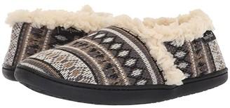 Minnetonka Dina (Tan Knit) Women's Slippers