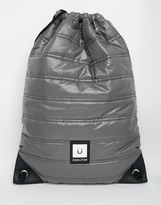 Comutor Drawstring Backpack - Grey