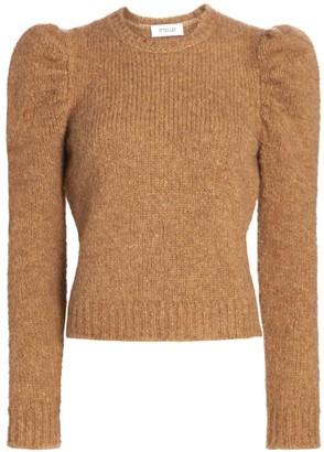 Derek Lam 10 Crosby Locken Puff-Sleeve Knit Sweater