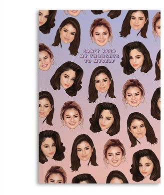 Central 23 Softcover Notebook Selena Gomez