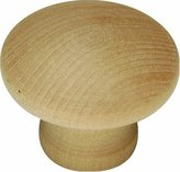 Hickory Hardware P184-UW 1.25 In. Natural Woodcraft Unfinished Wood Cabinet Knob