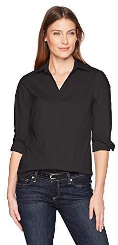 Lee Indigo Women's Plus Size Brynn Long Sleeve Woven