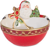 Fitz & Floyd Holiday Tidings Nut Bowl
