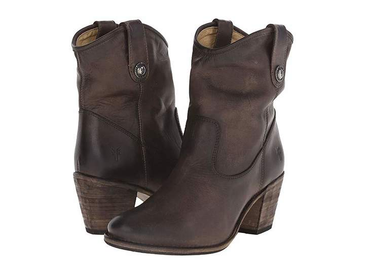 Frye Jackie Button Short Women's Dress Pull-on Boots