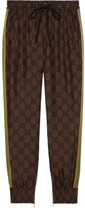 Gucci GG Supreme print track pants