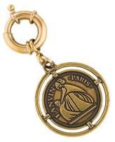 Lanvin Logo Medallion Bag Charm
