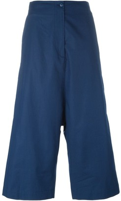 I'M Isola Marras Cropped Drop Crotch Trousers
