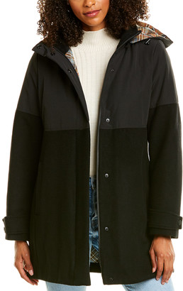 Pendleton Steamboat Wool-Blend Coat