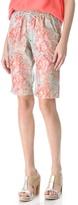 Suno Drawstring Bermuda Shorts