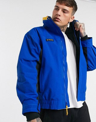 Columbia Bugaboo 1986 Interchange jacket in blue