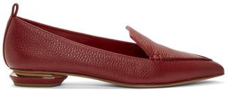 Nicholas Kirkwood Red Beya Loafers