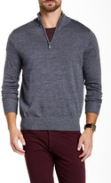 Tailorbyrd SU Quarter Zip Wool Sweater