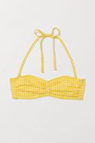 H&M - Bandeau Bikini Top - Yellow