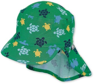 Sterntaler Boy's Cap with Visor and Neck Protection Hat