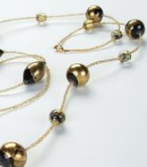 UG Black Gold Spheres Necklace Adornment Pendant Jewel Jewelry Accessory