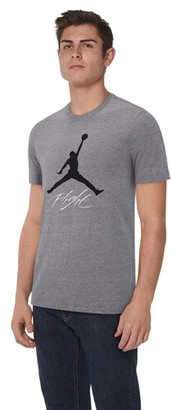 Jordan Jumpman Air HBR T-Shirt - Carbon Heather / Black
