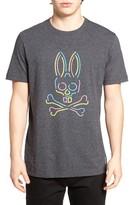 Psycho Bunny Men's 'Soho Neon' Graphic Crewneck T-Shirt