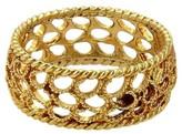 Buccellati 18K Yellow Gold Filidoro Dome Band Ring