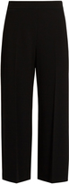 Rebecca Taylor High-waisted wide-leg crepe trousers