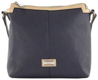Cellini CSR032 Renee Zip Top Crossbody Bag