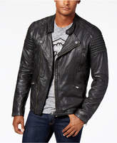 Superdry Men's Leather Circuit Racer Jacket