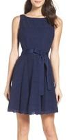 BB Dakota Women's Ty Fit & Flare Dress