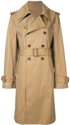 Puma Maison Yasuhiro double breasted trench coat