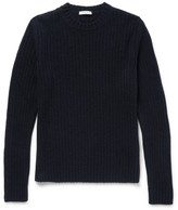 Boglioli Ribbed Wool and Cashmere-Blend Sweater