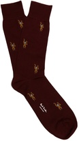Paul Smith Monkey-jacquard socks
