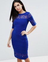 Paper Dolls Lace Insert Dress