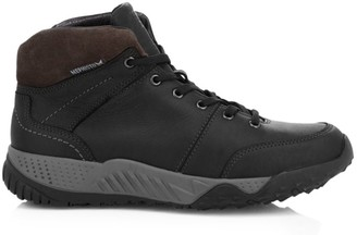 Mephisto Fausto Leather Lace-Up Boots