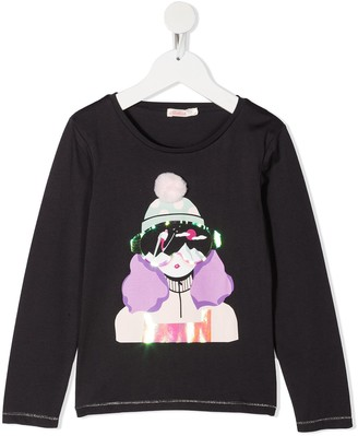 Billieblush Ski long sleeved T-shirt