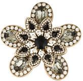 Valentino Floral Crystal Brooch