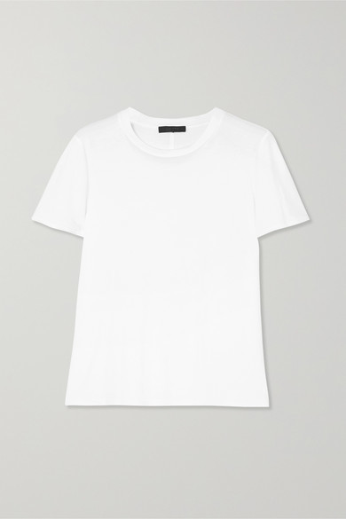 The Row Wesler Cotton-jersey T-shirt - White