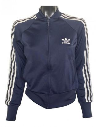 adidas Navy Synthetic Jackets