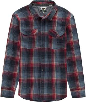 VISSLA Central Coast Long-Sleeve Flannel Shirt - Men's