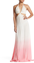 Raga Fairy Dust Cutout Ombre Maxi Dress