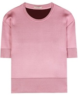 Bottega Veneta Wool and silk-blend top