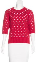 RED Valentino Wool & Cashmere Blend Sweater