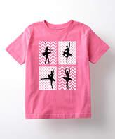 Raspberry Ballerina Silhouettes Tee - Toddler & Girls