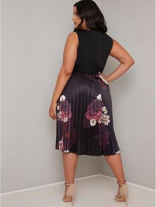 Chi Chi London Curve Arden Dress - Black