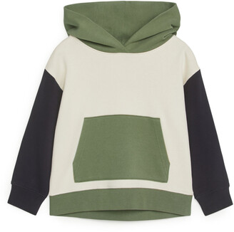 Arket Colour-Blocked Hoodie