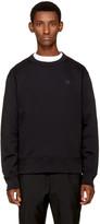 Acne Studios Black Fairview Face Sweatshirt
