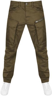 G Star Raw Rovic Straight Tapered Trousers Khaki