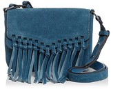 Rebecca Minkoff Rapture Small Suede Shoulder Bag