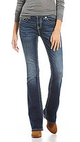 Miss Me Wing Flap-Pocket Bootcut Jeans