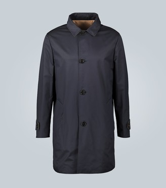 Brunello Cucinelli Technical fabric reversible coat
