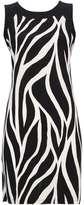 Wallis Monochrome Zebra Print Pinafore Dress
