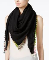Steve Madden Catalunya Tassel Square Scarf & Swim Cover-up